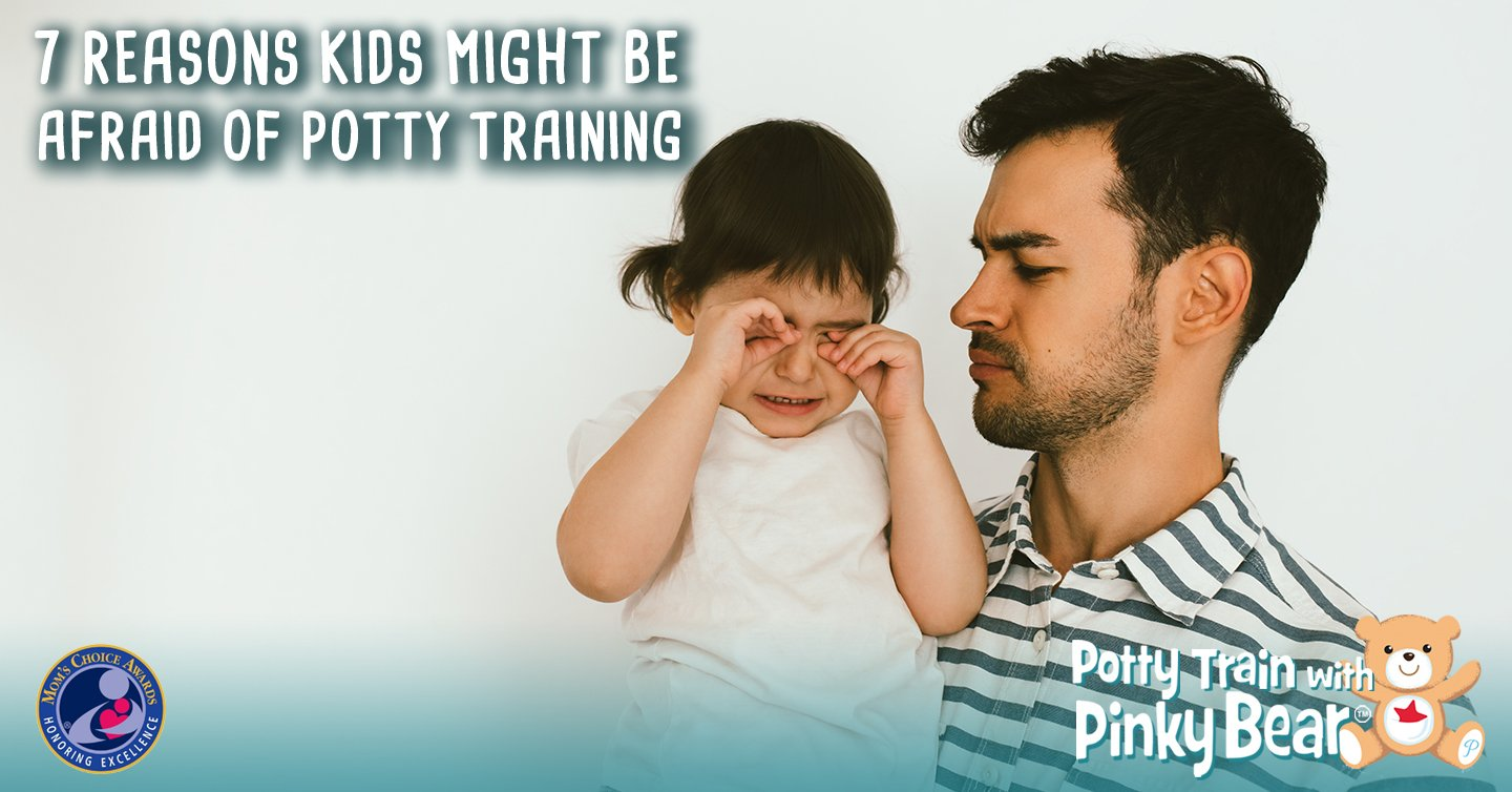 Reasons Kids Might Be Afraid of Potty Training